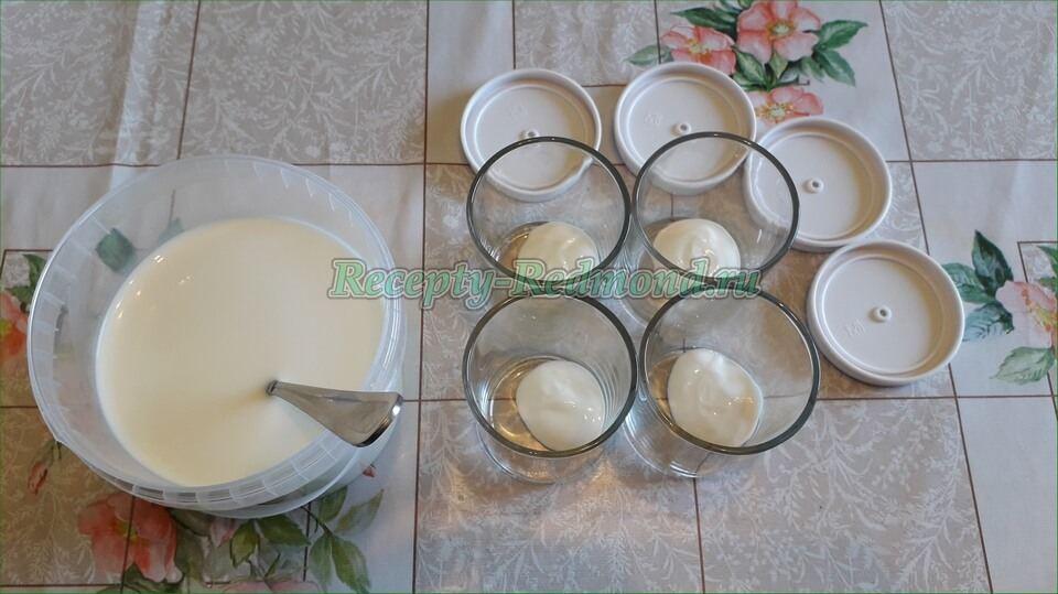 Баночки для йогурта редмонд рецепты с фото пошагово — photo 6