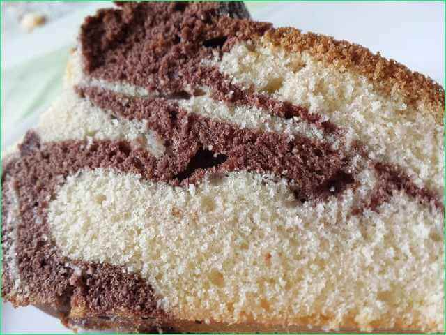 кусочек торта Зебра
