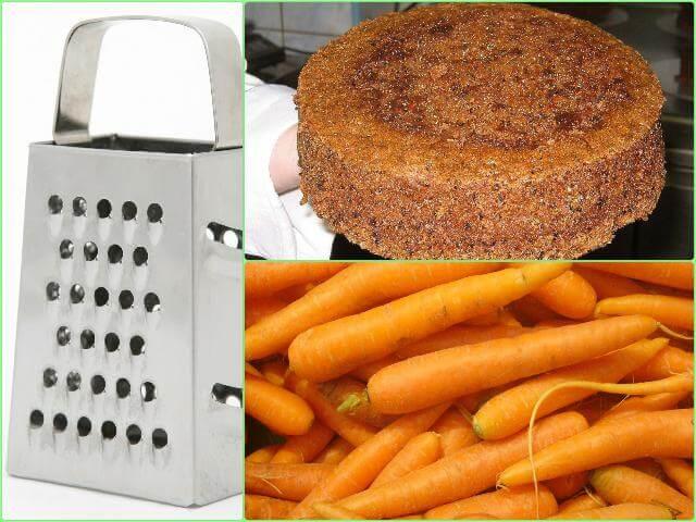 Готовим морковь для морковного торта в мультиварке
