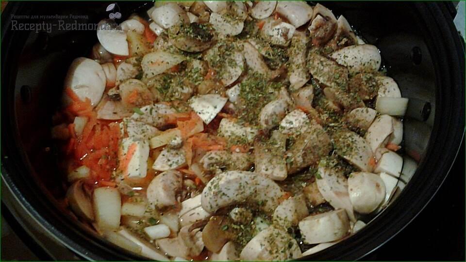 готовим сырный суп с шампиньонами