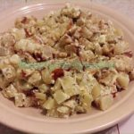 Картошка с сыром и майонезом